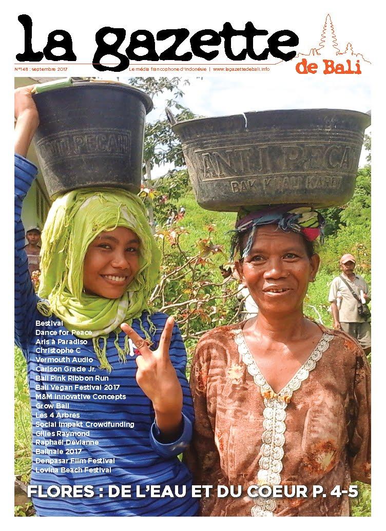 La Gazette de Bali septembre 2017