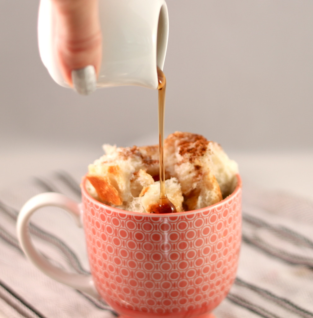 French toast in a cup vía Pretty Prudent
