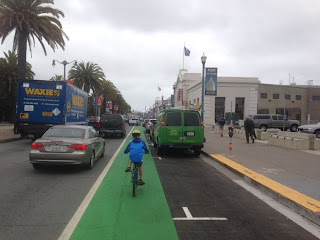 cycling with children in San Francisco