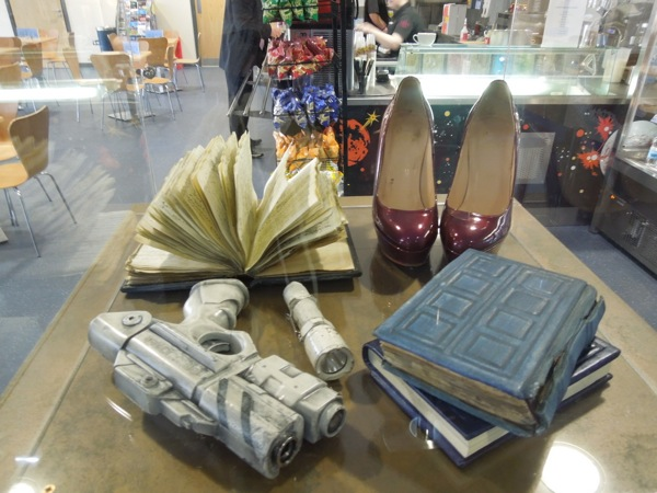 River Song Doctor Who TV props
