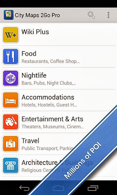 City Maps 2Go Pro Offline Maps app