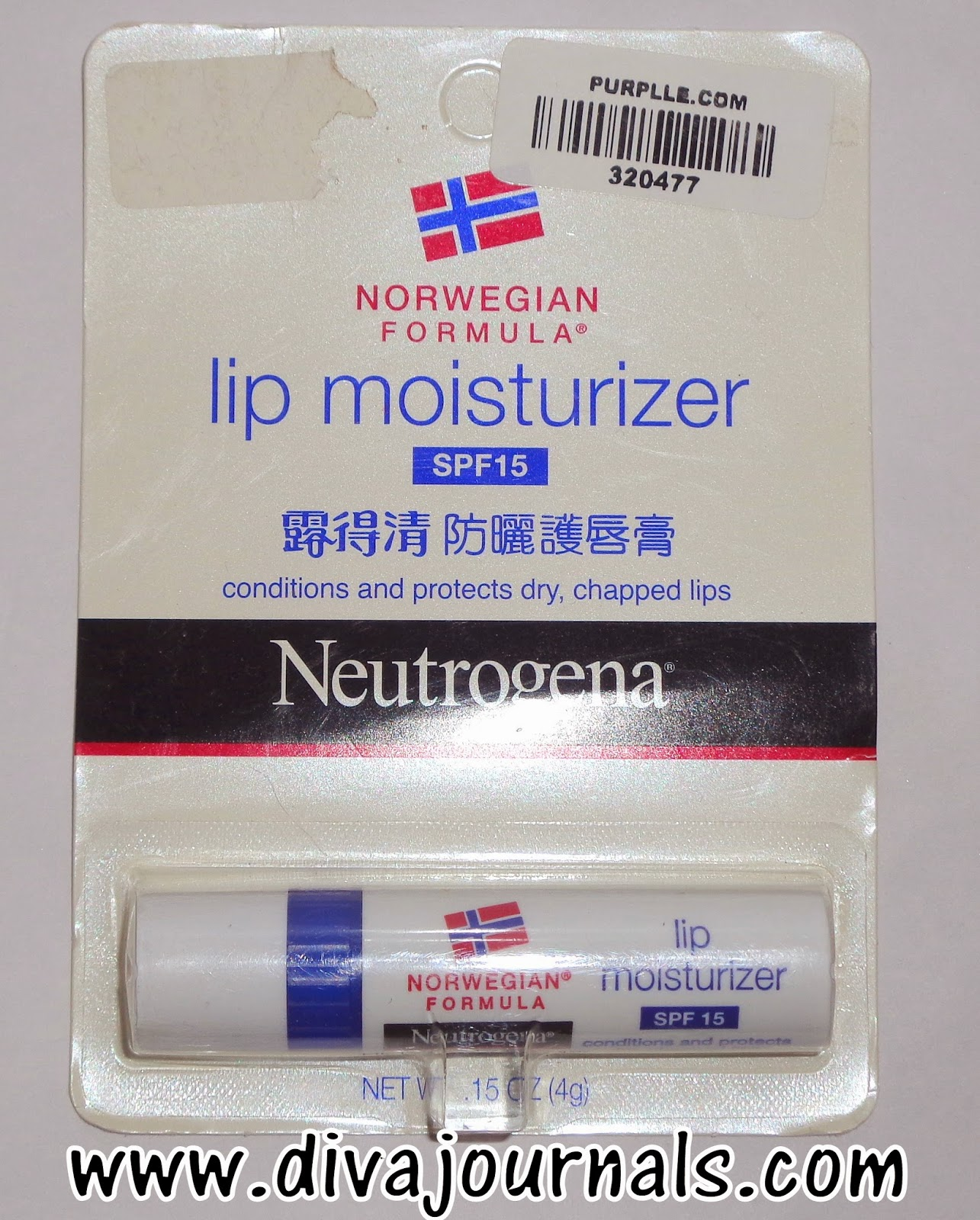 Neutrogena Lip Moisturiser (Norwegian Formula) Review