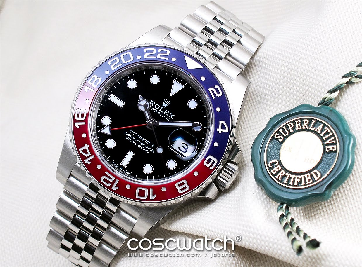 Rolex - GMT Master II Ceramic Blue Red 'PEPSI'