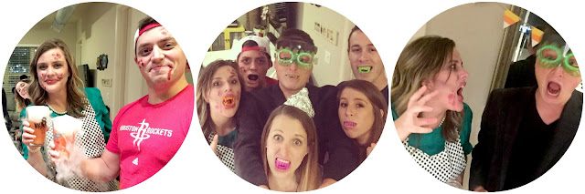 Halloween party blog