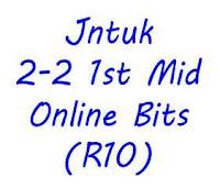 2-2 1st Mid Online Bits