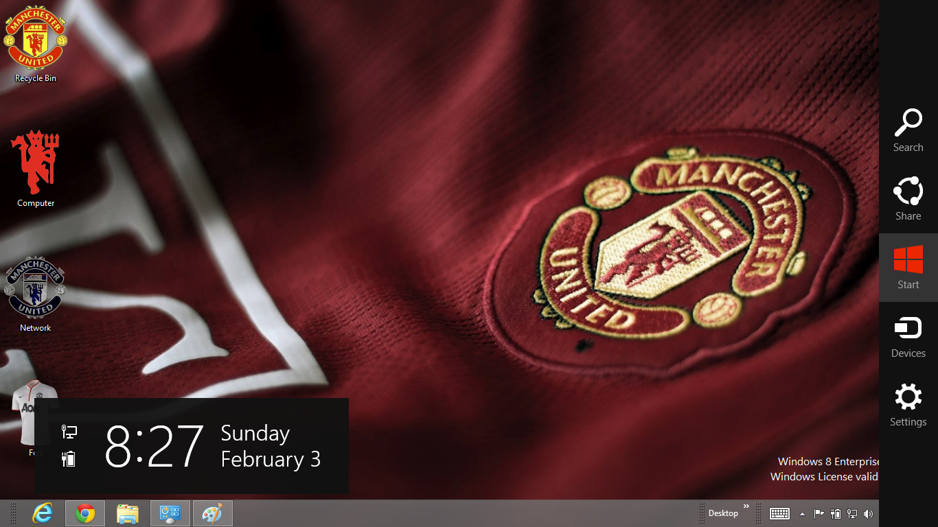 Download Tema Manchester United 2013 Untuk Windows 7