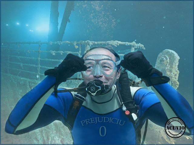Funny photo Traian Basescu Dosarul Flota