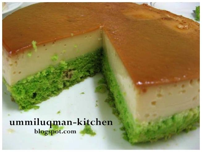 Kek Puding Karamel