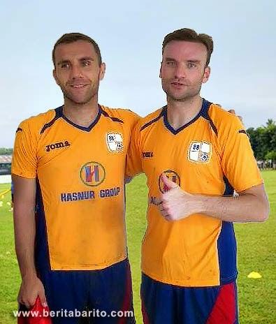 Marjan Jugovic dan Igor Radusinovic pemain asing Barito