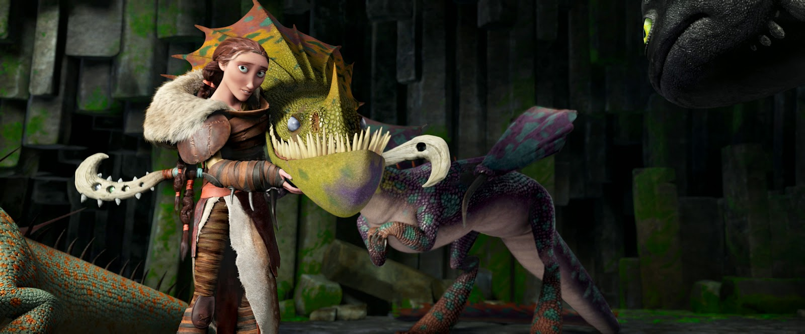 voices of how to train a dragon