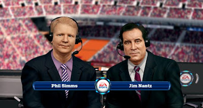 Madden NFL 25 Commentators Phil Simms and Jim Nantz
