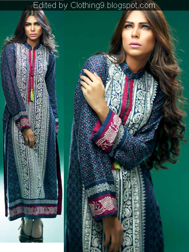Sania Zara Kurti Collection 2014-15