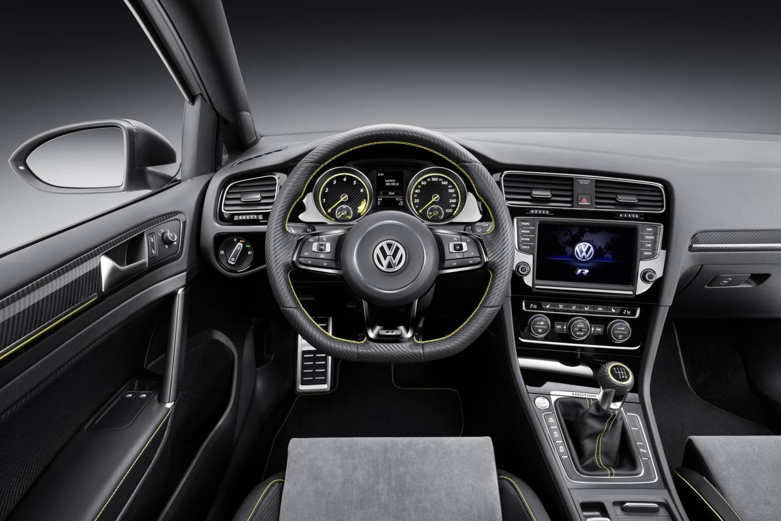 Volkswagen Golf R420 - painel