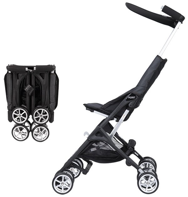 The world's most smallest folding stroller - Pockit Stroller - Guinness World Record