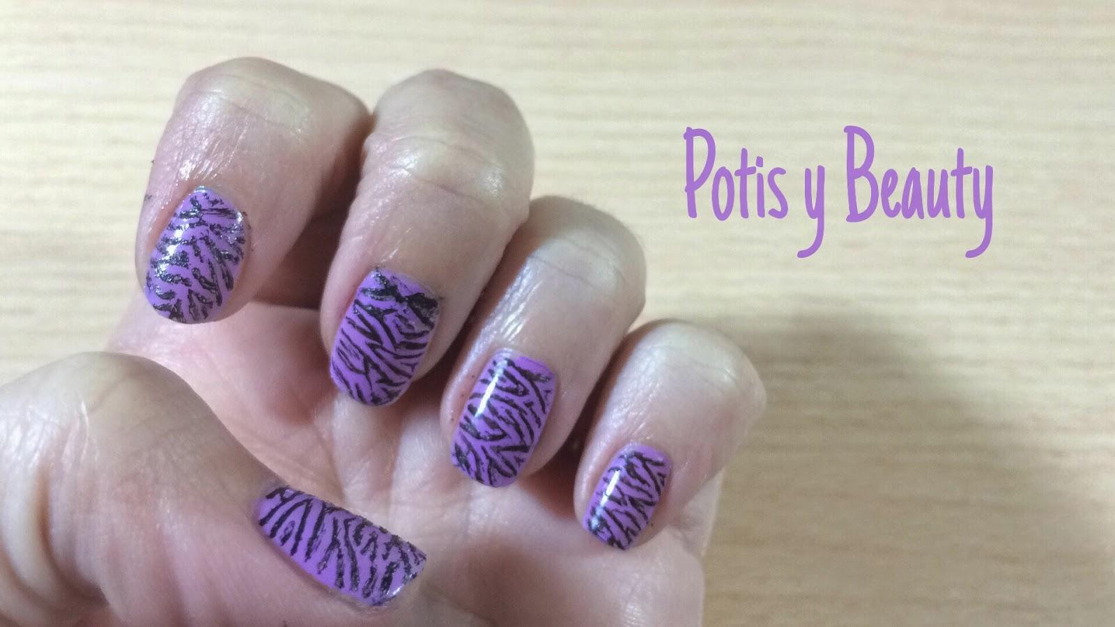 Uñas de cebra