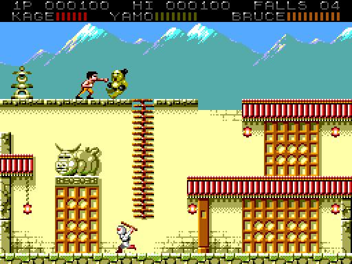 BruceLee para Sega Master System