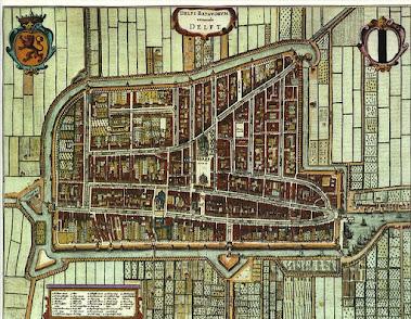 Plano de Delft, 1652