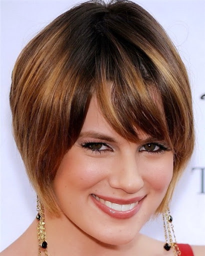 New short thick hairstyles for women oval face 2015