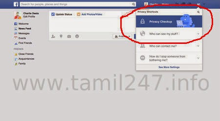 Important Facebook - Privacy Checkup - DO IT ASAP, Facebook security
