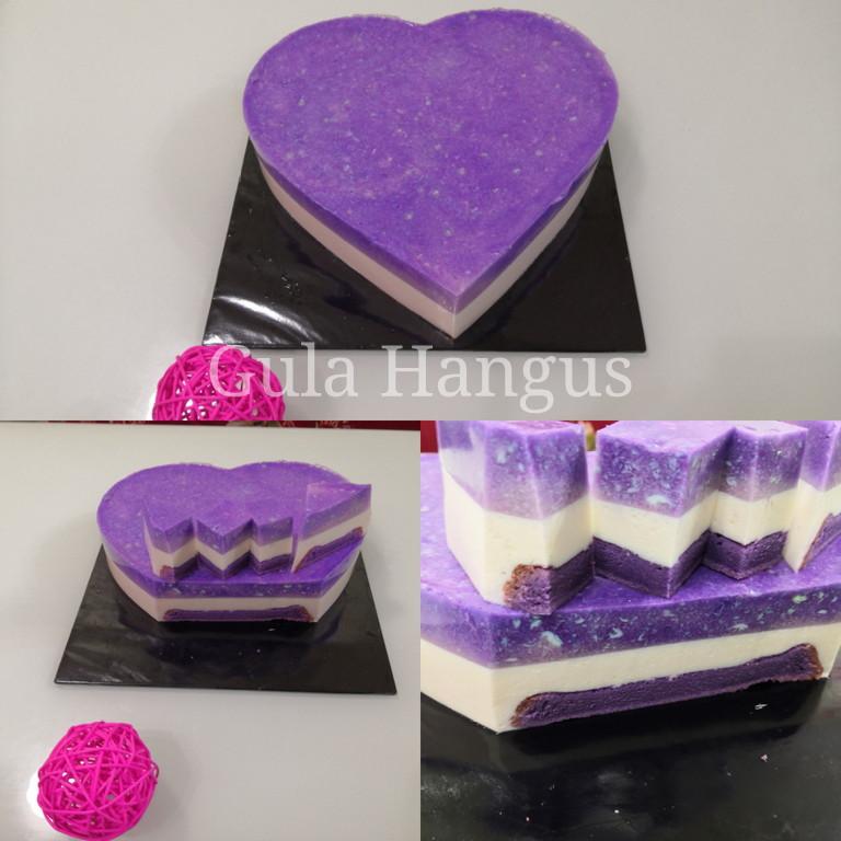 PUDING CAKE KELADI / YAM