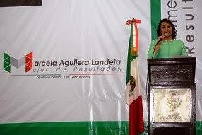 1er. Informe diputada Marcela Aguilera Landeta