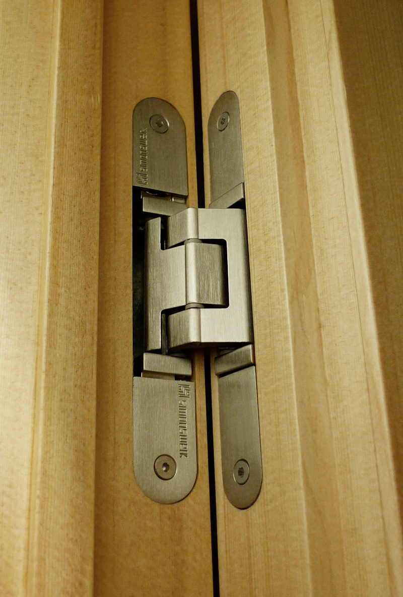 Maisonette apartment march 2013 - Hidden hinges for exterior doors ...