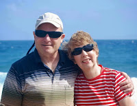 Rich and Kay in the Caribbean