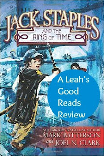 Review of Jack Staples and the Ring of Time, a young adult read