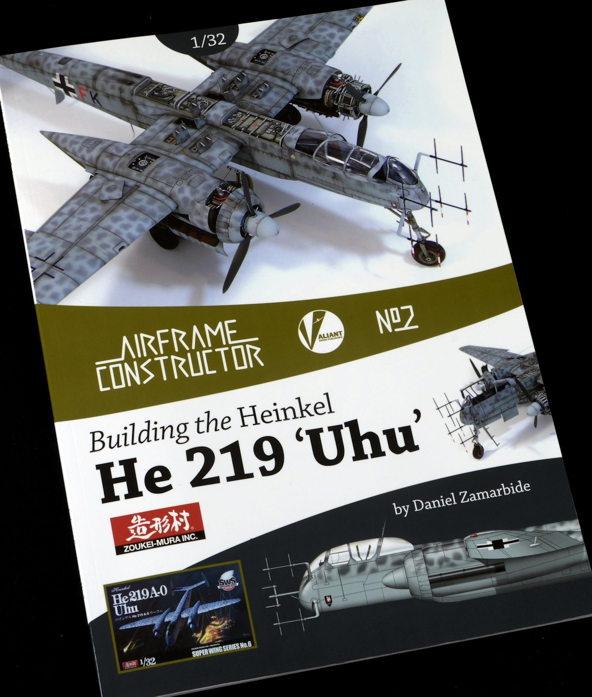 "Review: Valiant Wings ""Building the Heinkel He-219 UHU – A Detailed Guide to building the Zoukei-Mu"