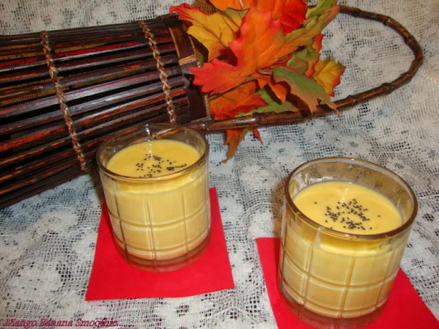 images for Mango Banana Smoothie Recipe / Easy Mango Banana Smoothie Recipe