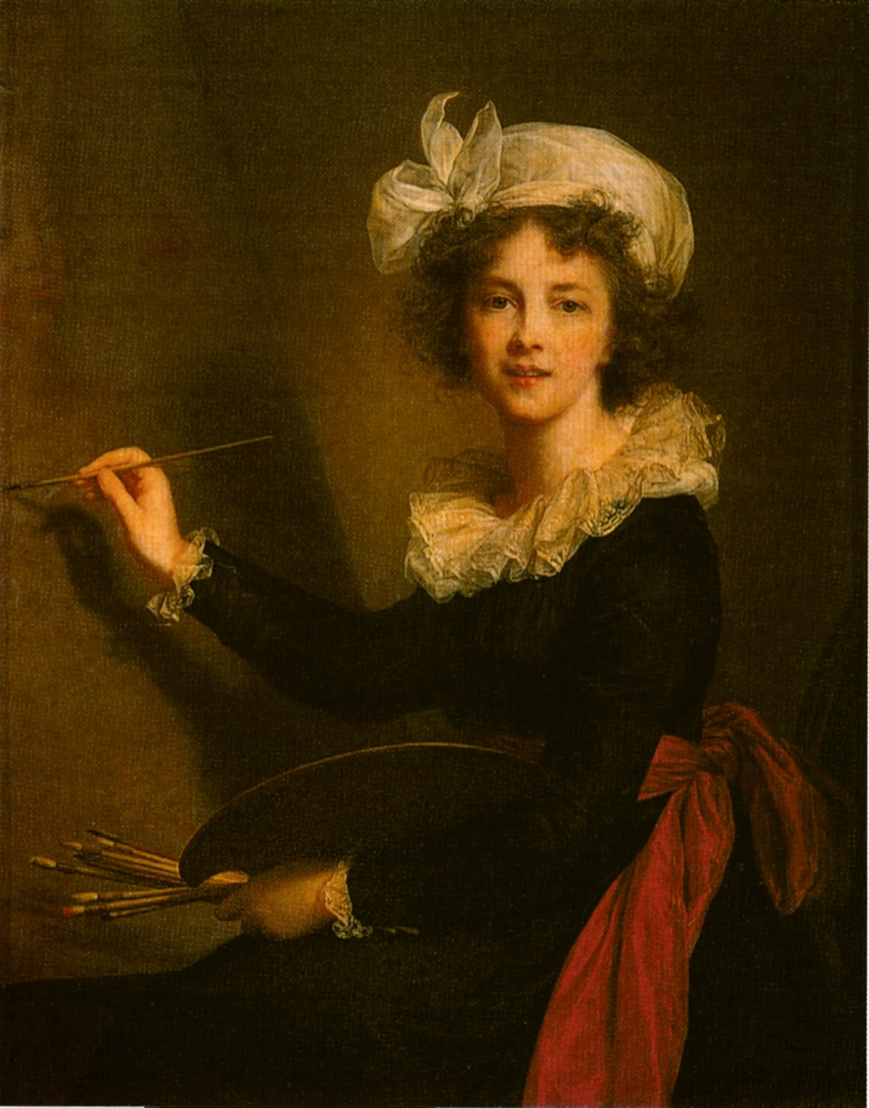 Extrêmement Women in the Act of Painting: Showing her Teeth XI91