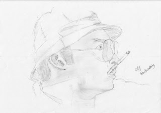 Fear and Loathing in Las Vegas sketch