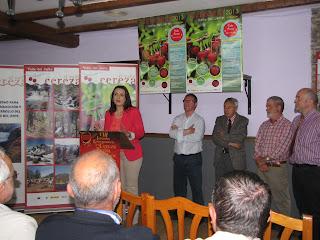 """Se inaugura la campaña de promoción de  """"LA CERECERA 2013"""" en el Valle del Jerte"""