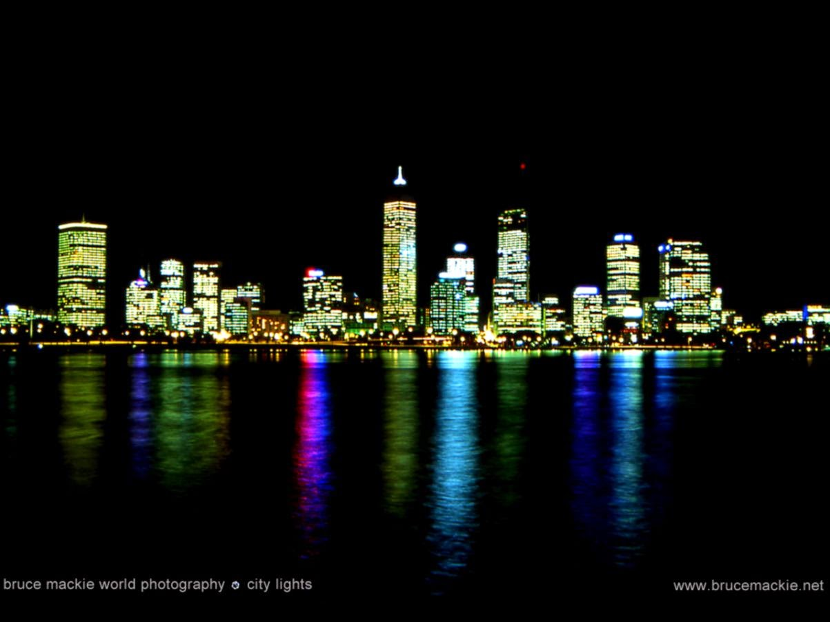 city lights backgounds for - photo #23