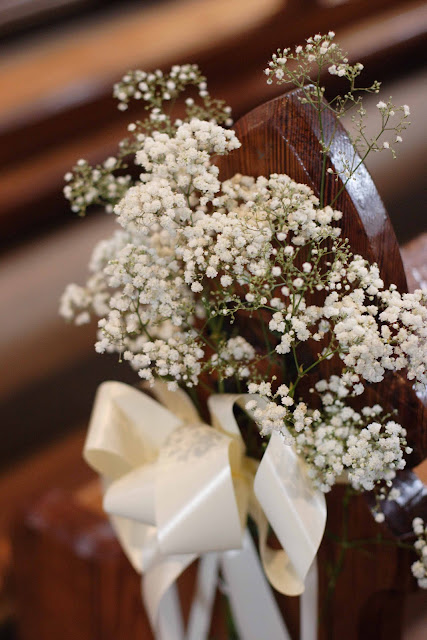 Wedding Decorations For Church Pews