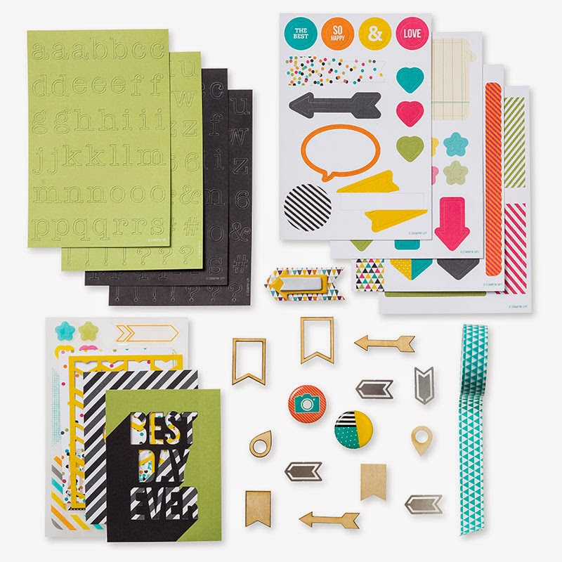 Buy Project Life accessory packs from UK stampin' Up demonstrator Vicky Hayes