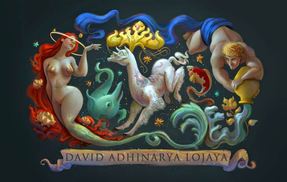 The Art of DAVID ADHINARYA  LOJAYA