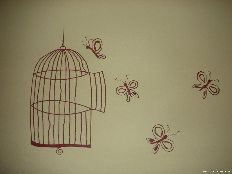 Laminas para decorar paredes decoracin pared relieves - Paredes con dibujos ...