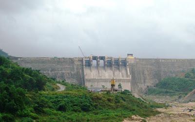 Thủy điện Lào trên sông Mekong