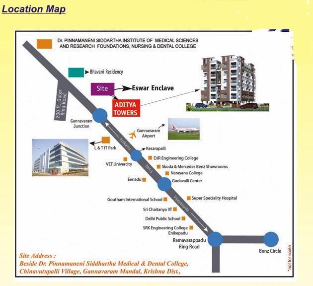Aditya Towers - Chinnavutupalli -  Vijayawada - Gannavaram