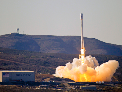 The first Falcon 9 1.1 launch