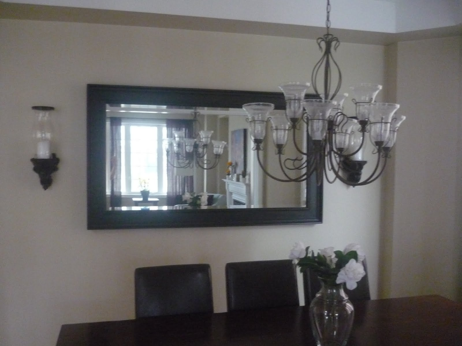 GORGEOUS LARGE DINING ROOM MIRROR