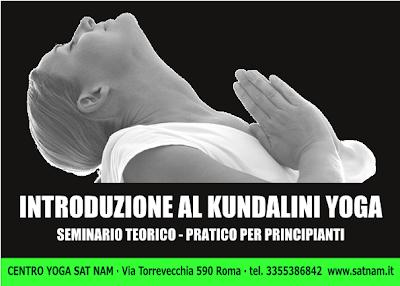 Introduzione al kundalini yoga - seminario teorico pratico per