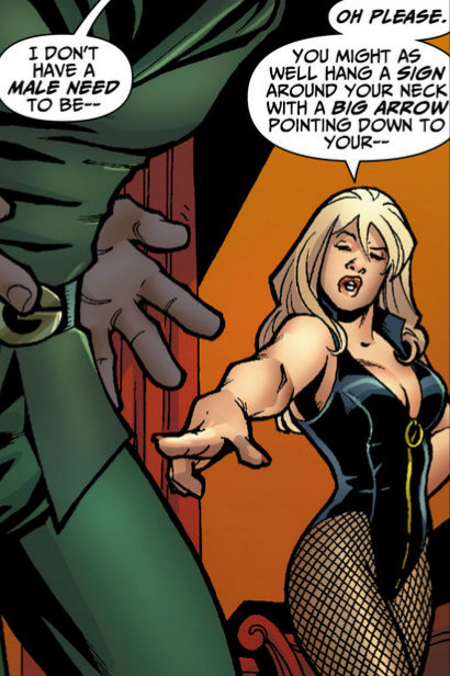 from green arrow black canary wedding special 1 art by amanda connor