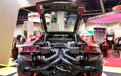 SEMA SHOW 2012 : Une Audi R8 un peu spéciale