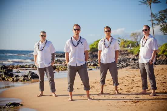 Groomsmen Beach Wedding Attire To Choose | bridal and wedding gowns