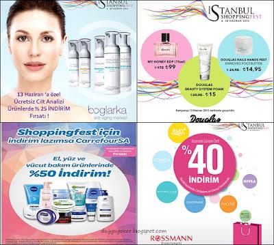 İstanbul Shopping Fest Kozmetik Günü İndirimleri
