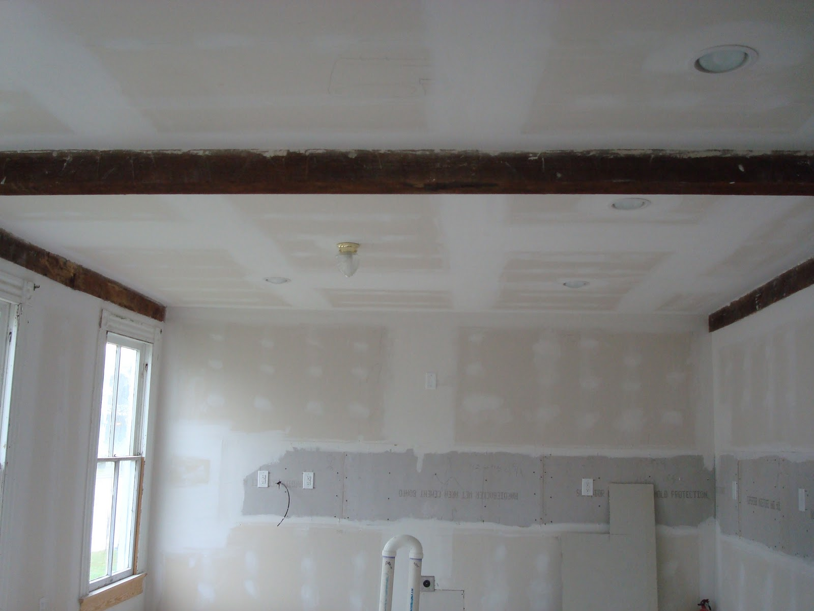 how to add another dry wall on the celing