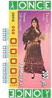 Traje típico de Sevilla - Mujer - Cupones ONCE 1997