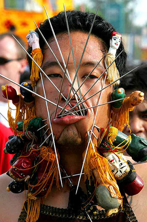World's Most Weird & Painful Festivals Photos Seen On www.coolpicturegallery.us